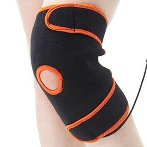 TherMedic PW160 (Medical CE0120) - Knee Heating Pad for torn ACL, Osgood-Schlatter, Baker's Cyst, IT Band, Tendonitis, Runner's Knee (Heat and Cold Therapy Brace)