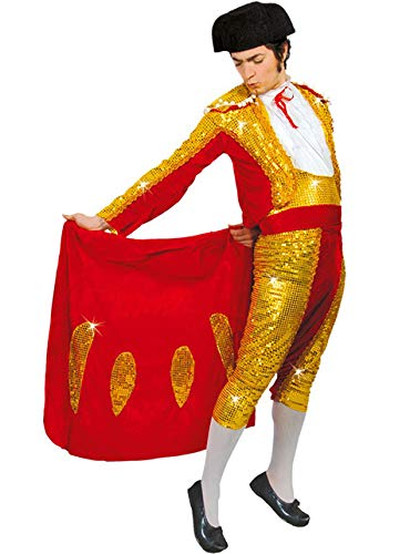 Spanische Kostüm Torero - Torero Stierkämpfer - Kostüm f. Herren Karneval Fasching Arena Kampf Stier Gr. M - L, Größe:L