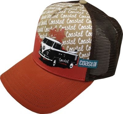 Coastal - Casquette de Baseball - Homme Orange dark orange brown Taille Unique