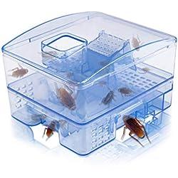 Trampa para cucarachas Killer Cockroach Catcher, Reutilizable y no tóxico, respetuosa con el Medio Ambiente, antiparasitaria Trampa, Segura para niños y Mascotas