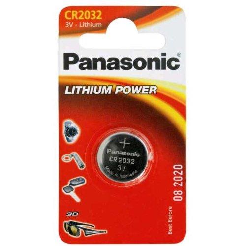Panasonic Lithium Batterie (CR 2032) Doppelpack (Panasonic Cr2016 3v)