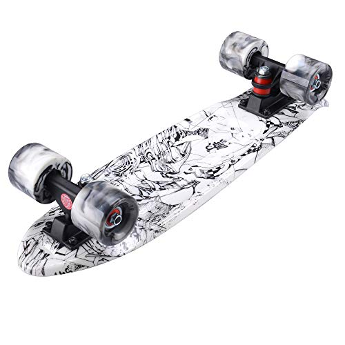 Zoom IMG-2 playshion fish board mini cruiser