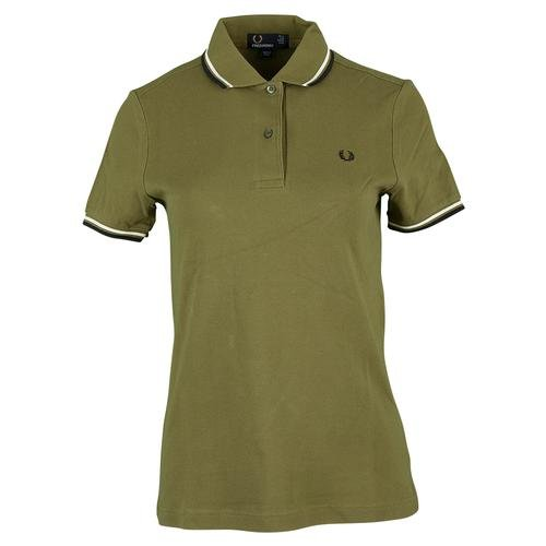 Fred Perry - Fred Perry Polo regolato Bianco donna Twin Tipped Fred Perry Shirt Bianco