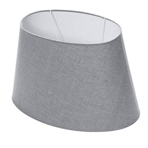Lumissima-Lampenschirm, oval grau