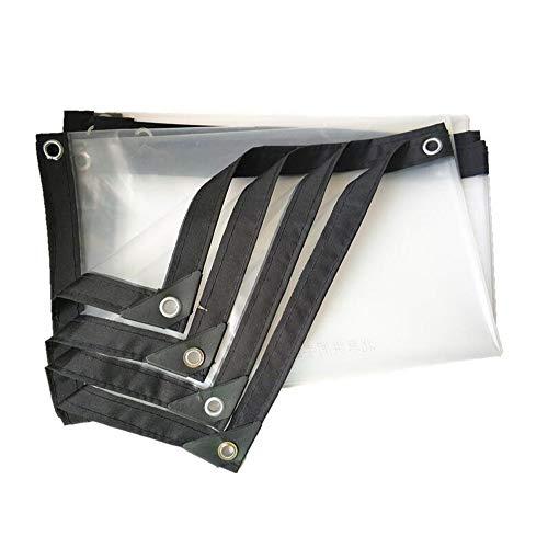 XRFHZT Dicke kunststoffplatte transparente kunststoffplane regenschutztuch Dicke gepolsterte Plane regenschutzplane,2mX8m