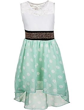 Festliches Mädchen Sommer Kleid in vielen Farben Sommerkleid