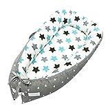 XLGX Multifonctions Nid Lit - réducteur de lit - (80 x 50 cm) - Lit de Voyage Tour de lit bébé nouveau-né,Lit Pour...