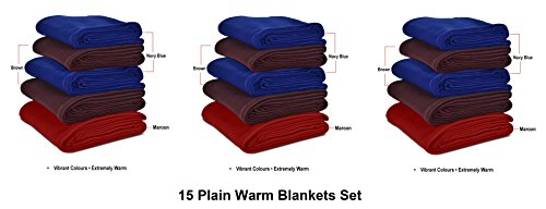GOYALS-Fleece-Warm-Single-Bed-Blanket-8-x-12-Pack-of-15