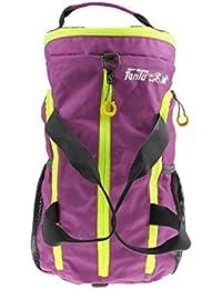 Generic High Quality Outdoor Large Capacity Gym Bag Sports Bag Travel Duffel Bag Black - Purple