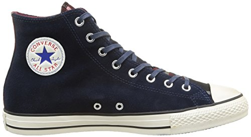 Converse Herren All Star Hi Suede/Txt Hightop Sneaker blau (Nighttime Navy Check)