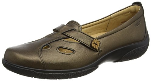 Più Caldo Damen Mary Jane Schuhe Brown (chocolate Bronze)