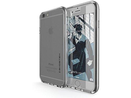 Ghostek® Custodia Cover Apple iPhone 6iPhone 6S-Cloak argento Faceplate [+ pellicola + cornice in alluminio] Case Custodia per Smartphone, Harcover Bumper Custodia protettiva Scocca