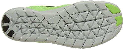 Nike Mädchen Free Rn Laufschuhe Grün (Ghost Green/black/electro Green/off White)