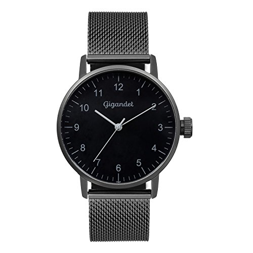 Gigandet Minimalism Women's Analogue Wrist Watch Quartz Black G27-007