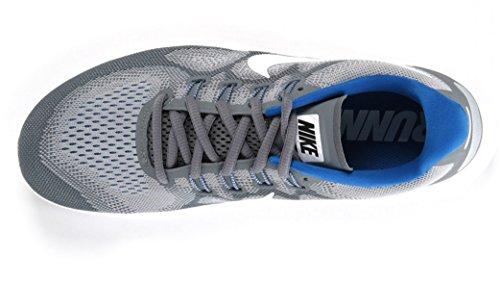 Nike Nike Free Rn 2017 S - cool grey/white-wolf grey-blue Grau (Cool Grey/White-Wolf Grey-Blue)
