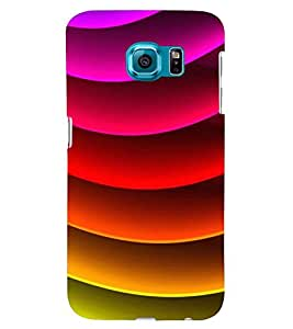 Printvisa Multicoloured Curved Pattern Back Case Cover for Samsung Galaxy Note 5 Edge::Samsung Galaxy Note 5 Edge 2
