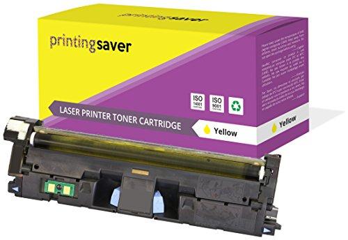 Printing Saver Gelb Premium Toner kompatibel zu Q3962A (122A) für HP Color Laserjet 2550 2550n 2550l 2550ln 2800 2820 2840 2850 2500 2500l 2500lse 2500n 1500 1500L 1500lxi 1500 -