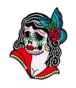 sunny-buick-stunning-lady-sugar-skull-patch-35h-x-275-w-embroidered-patch