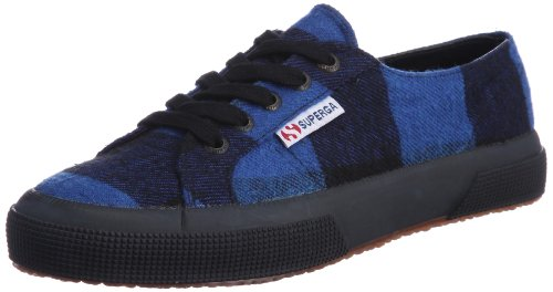 Superga 2750- TWD1U S0041R0-1, Sneaker donna blu (Blue-Black)