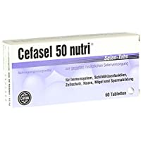 Cefasel 50 nutri Selen-Tabs, 60 St. Tabletten preisvergleich bei billige-tabletten.eu