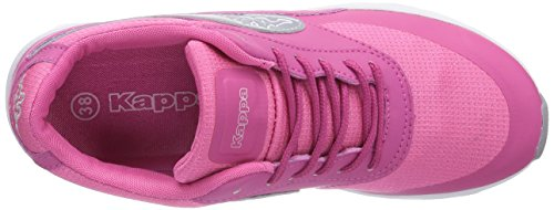 Kappa Milla, Sneakers basses femme Pink (2215 pink/silver)