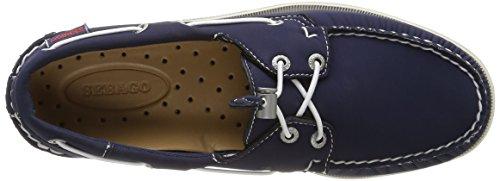 Sebago Docksides, Chaussures Bateau Homme Bleu (Navy)