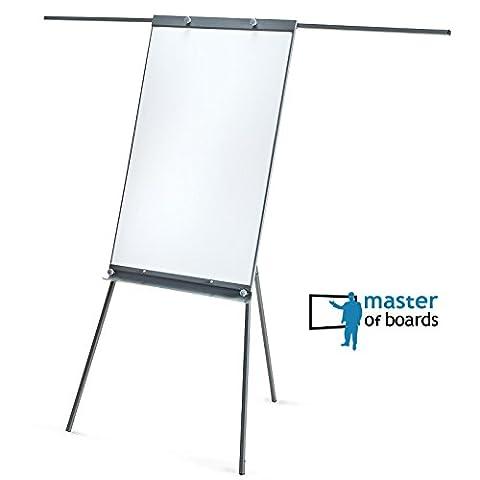 Panneau Affichage Sur Pied - Chevalet de conférence Master of Boards® gris
