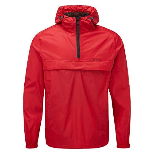 TOG 24 Craven Mens Cagoule Style Packable Lightweight Waterproof Jacket with Hood