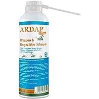 ARDAP Wespen- und Ungezieferschaum – Mittel zur gezielten Bekämpfung von Wespen & Ungeziefern in Nestern – 1 x 300 ml