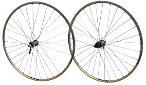 Shimano Tiagra 32h Paire 700c-Roue pour vélo de route Mavic Bike Racer Sport ouvert à moyeu roues Jante Argent