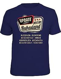 Original RAHMENLOS® T-Shirt für den aktiven Rentner: Update, jetzt im Ruhestand…