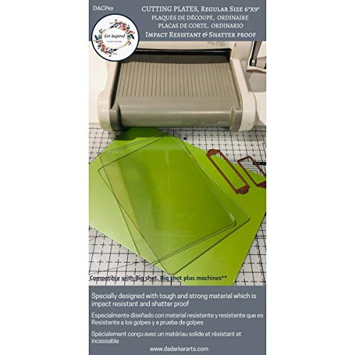 Get Inspired Cutting Plates Compatible for Big Shot Cutting Machine -1 Pair