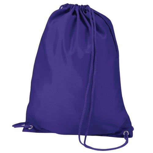 Quadra-Tasche Schultertasche für Fitnessstudio (7Liter), Violett - violett - Größe: One...