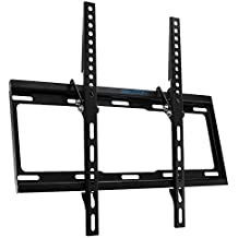 "deleyCON - Soporte universal para TV de Pared– 26 ""a 65 pulgadas (66 – 165 cm), Hasta 14 ° inclinable, Soporta hasta 35 kg,Hasta VESA 400 x 400 mm – 25 mm – Distanciador de pared TV plasma"