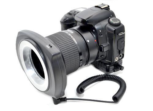 LED Macro Ringlight Modell A für alle Makroobjektive mit 49mm, 52mm, 55mm, 58mm, 62mm, 67mm Filtergewinde