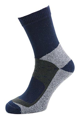 Calze da trekking cool-comfort - ideale per chi apprezza piedi rilassati e freschi con materiali confortevoli - effetto rilassante e rinfreschante, piedi asciutti - qualità alpina made in alto adige | 433-b-42-43