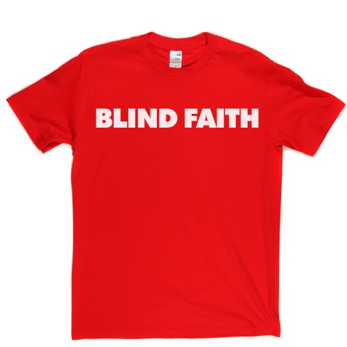 Blind Faith English Rock Band Clapton UK London T-shirt Rot