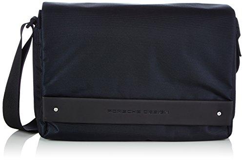 Porsche Design Herren Cargon 2.5 MessengerBag FM Umhängetaschen, Blau (Dark Blue 402), 27x15x13 cm - Porsche Männer Schuhe