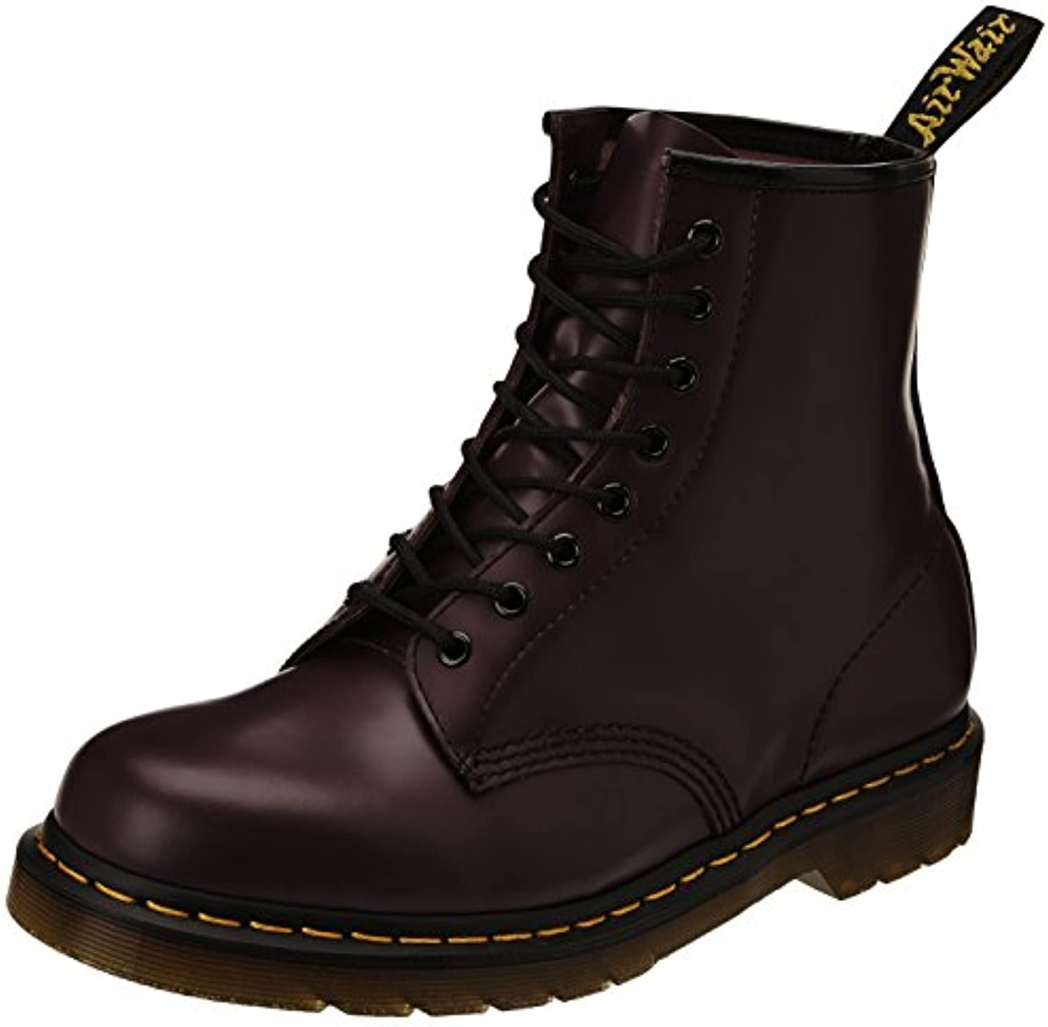 Dr. Martens - Botas para mujer, color morado violet (purple smooth), talla 39