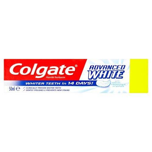 Colgate 50ml Advanced White Toothpastes (Advanced White Zahnpasta)