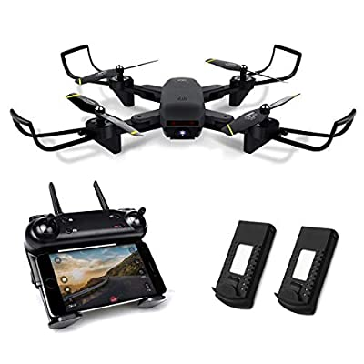 Kyerivs Drones RC Helicopter, 2.4Ghz 6-Axis Gyro 4 Channels Quadcopter - Altitude Hold, One Key Take Off/Landing, 360° Flip