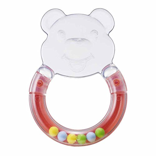 Teethers Baby Tooth Animal Bear Shaped Silicone Teether Soother Rattles Toys