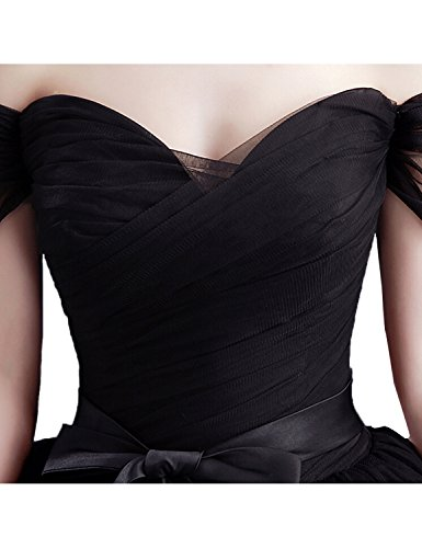 Stillluxury Damen Ballon Kleid Fuchsia