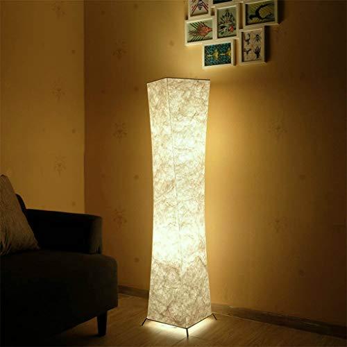 LED Floor Soft Light Lampe Nordic Minimalistisches Design Stoffschirm Torso Stehlampen für Wohnzimmer Schlafzimmer Umgebungsbeleuchtung