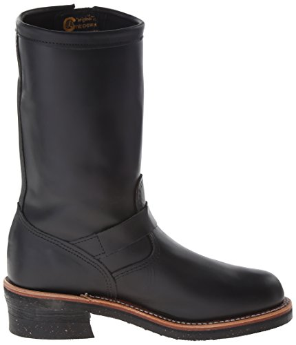 Chippewa Mens 1901M48 Leather Boots Schwarz