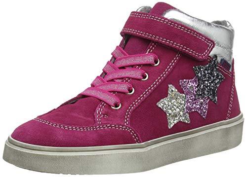 Richter Kinderschuhe Mädchen Ryana Hohe Sneaker, Pink (Lampo/Silver/Can/Ste 7701), 33 EU