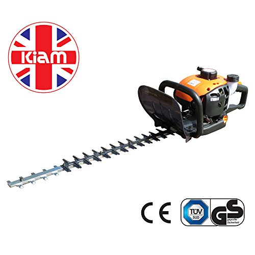 Kiam Sherwood H60 22.5cc Petrol Hedge Trimmer Cutter, 2 stroke, with Rotating Handle - ON SALE