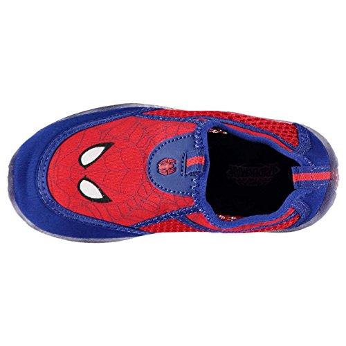 Character Kinder Aquaschuhe Badeschuhe Strand Wasserschuhe Schwimmschuhe Spiderman
