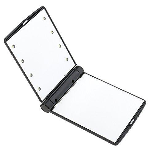 Haut Pflege Werkzeuge Vintage Hand Spiegel Tasche Spiegel Mini Kompakte Spiegel Mädchen Doppel-seite Gefaltet Make-up Spiegel Stil Zufällig