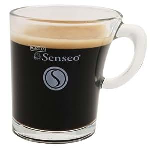 senseo marcilla espresso design glastasse glas tasse. Black Bedroom Furniture Sets. Home Design Ideas